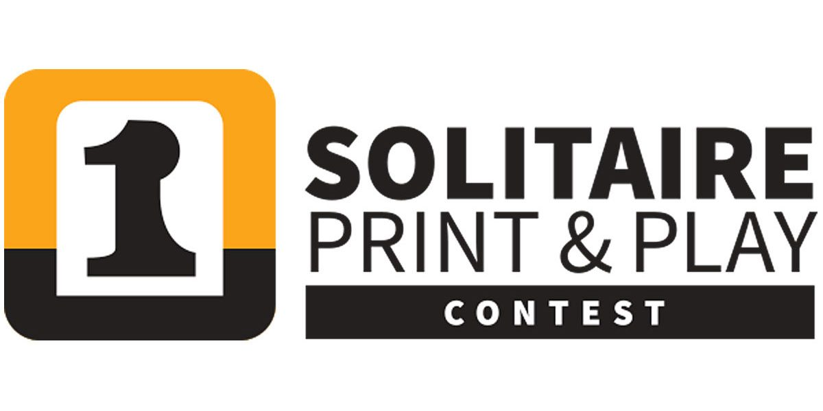Solitaire Print and Play Contest