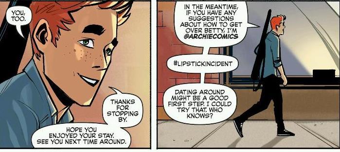 My suspension of disbelief just shot itself. Copyright Archie Comics.