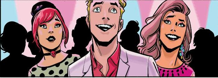 Like these three. Who ARE they? Copyright Archie Comics.