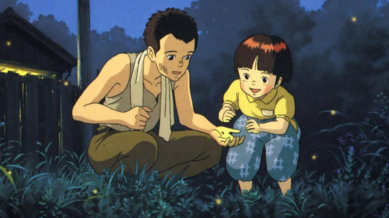 Grave of Fireflies - Movies that make grown men cry