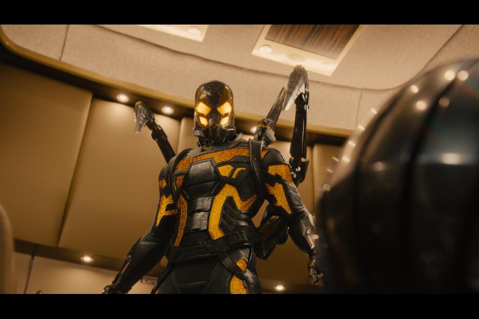 Darren Cross (Corey Stoll) as Yellowjacket. Photo © Disney