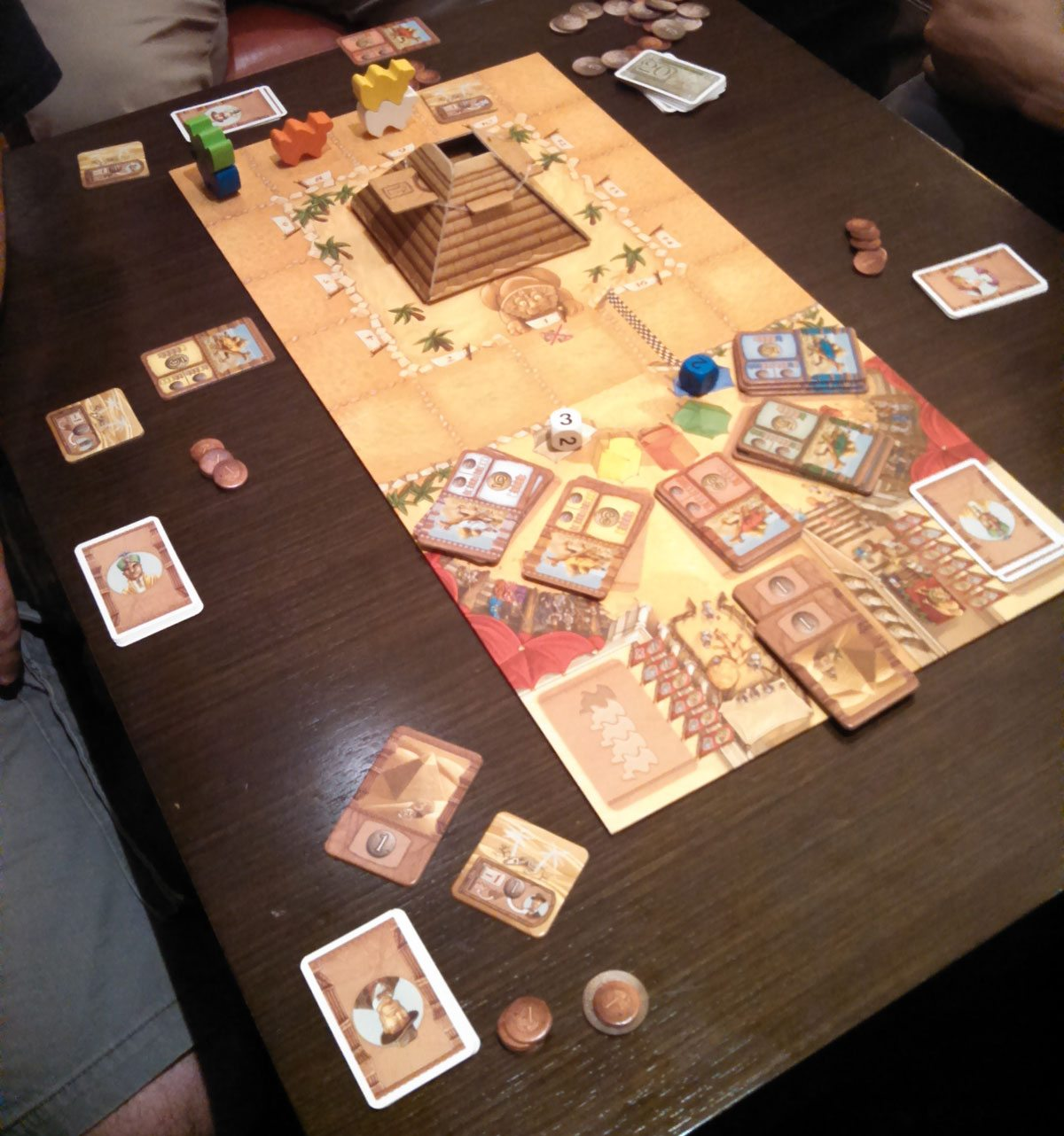 Camel Up, just one of the late night games played by the GeekDads.