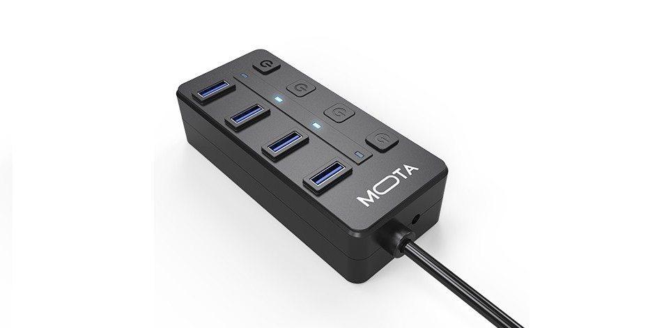 MOTA 4-Port USB 3.0 Hub