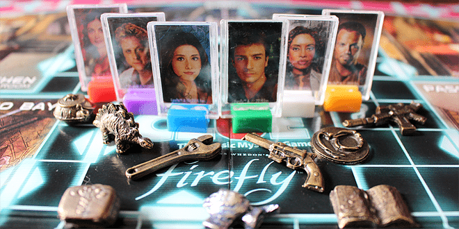 Firefly Clue Pieces © Sophie Brown