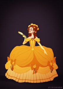 """Belle by Claire """"Shoomlah"""" Hummel"""