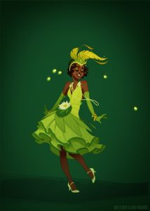 """Tiana by Claire """"Shoomlah"""" Hummel"""