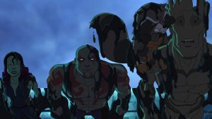"""Marvel's Guardians of the Galaxy return in """"Road to Knowhere,"""" the premiere episode of the new animated series on Disney XD."""