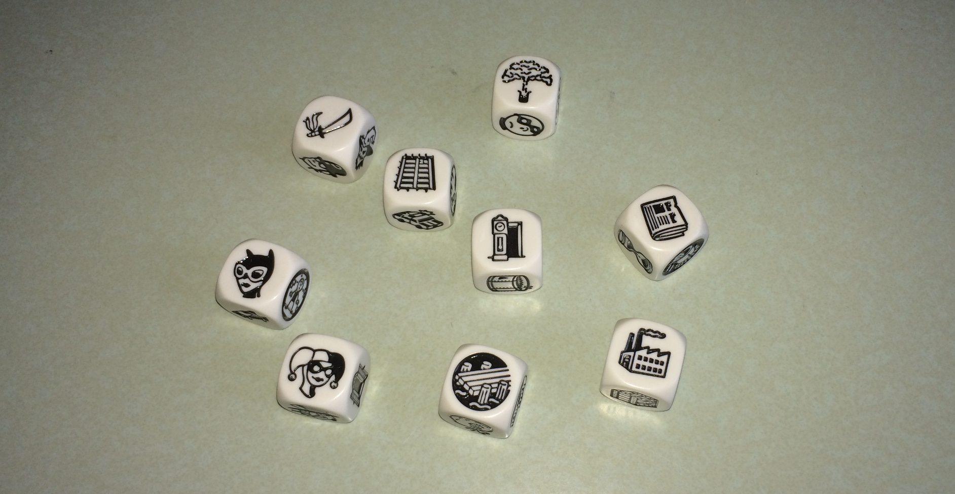Batman Story Cubes