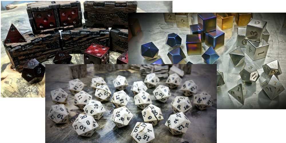 Images courtesy Artisan Dice