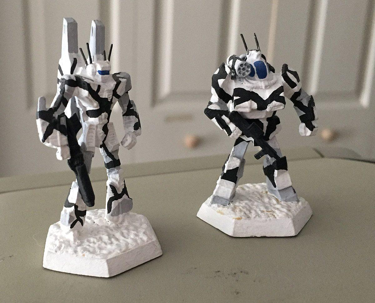 Battletech-Minis
