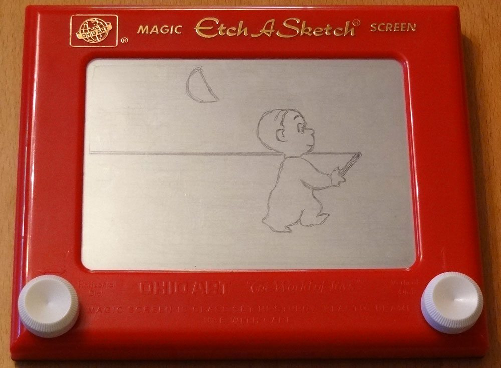 Harold Etch-a-Sketch