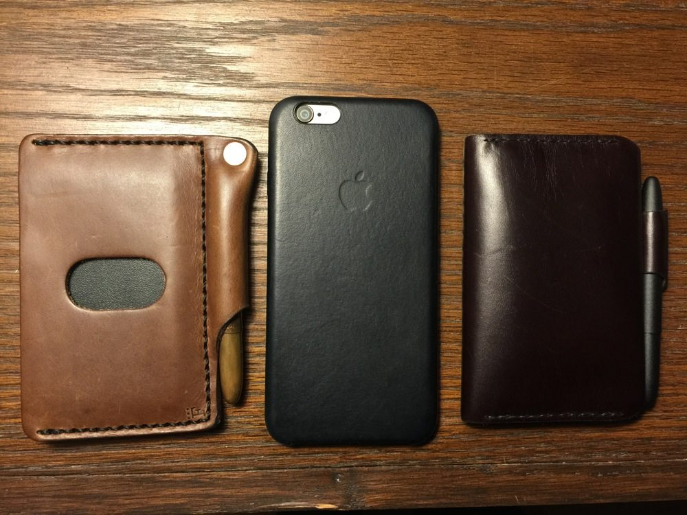 (Architect's Wallet, iPhone 6, Charette Wallet - Photo by Skip Owens)