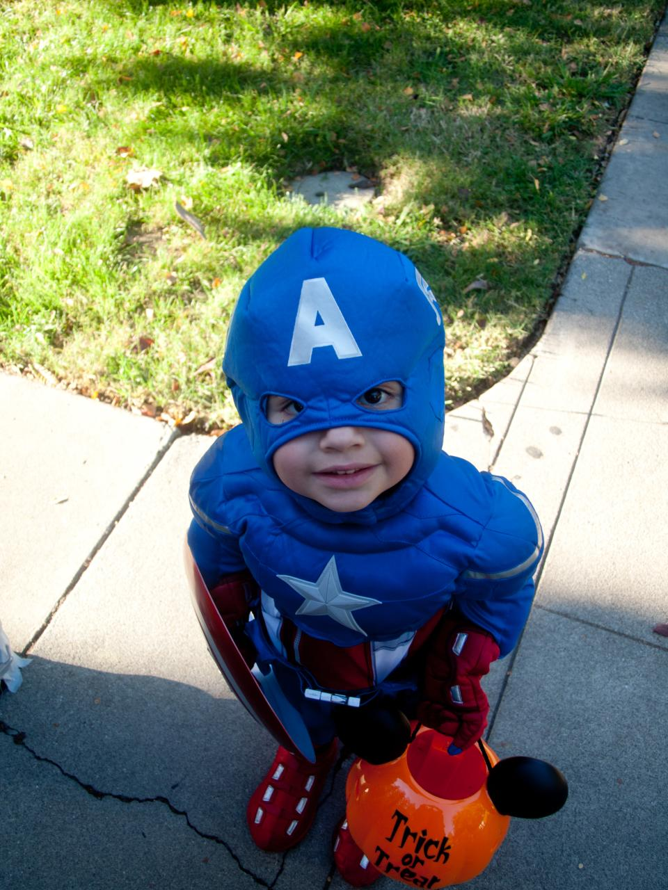 """Trick or Treat, citizen!"" Photo by Patrick Giblin, used under Creative Commons license."