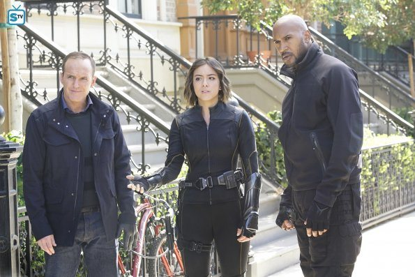 Coulson, Daisy, Mack, SHIELD