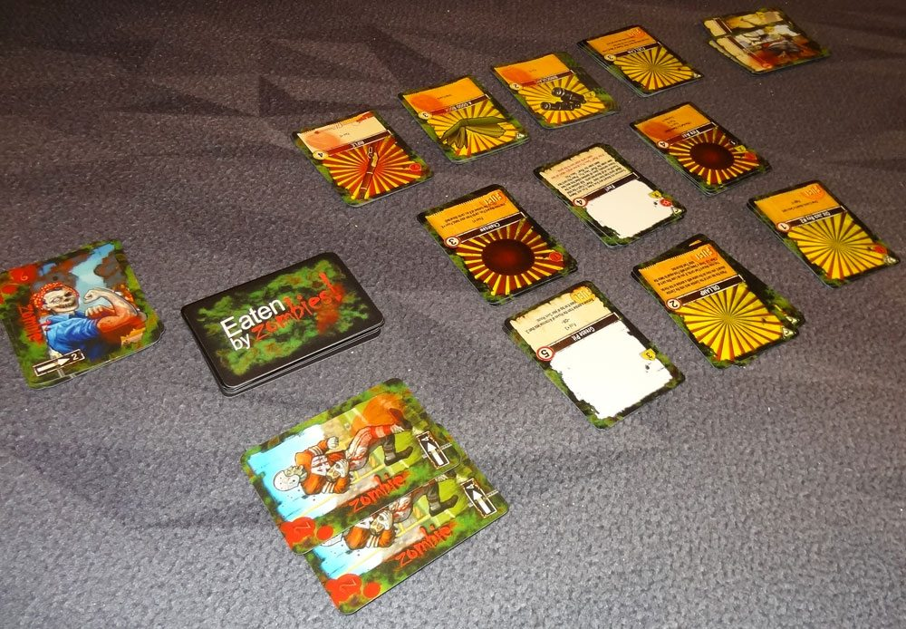 Eaten by Zombies play