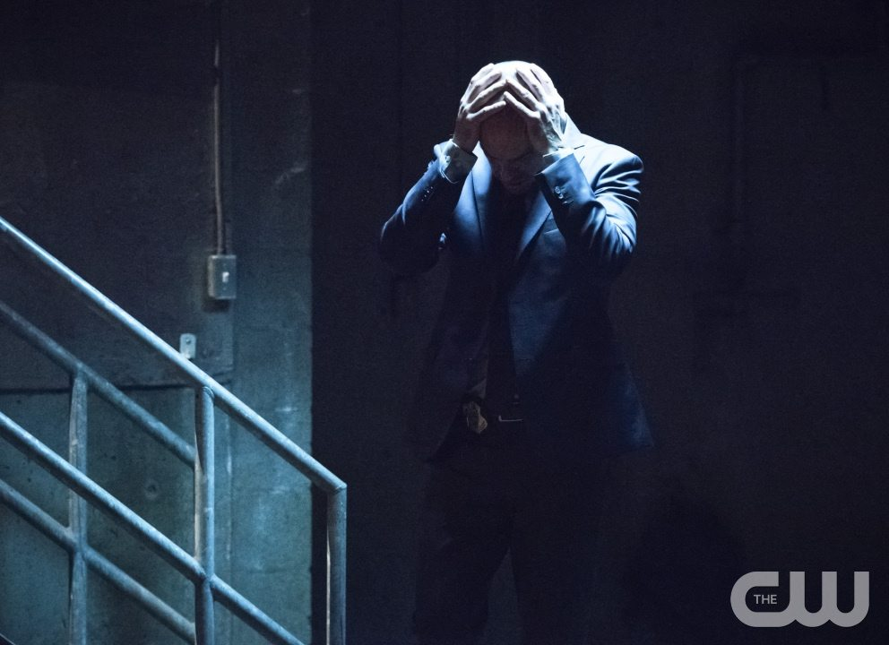 """Arrow -- """"Beyond Redemption"""" -- Image AR405B_0347b.jpg -- Pictured: Paul Blackthorne as Quentin Lance -- Photo: Dean Buscher/ The CW -- �© 2015 The CW Network, LLC. All Rights Reserved."""