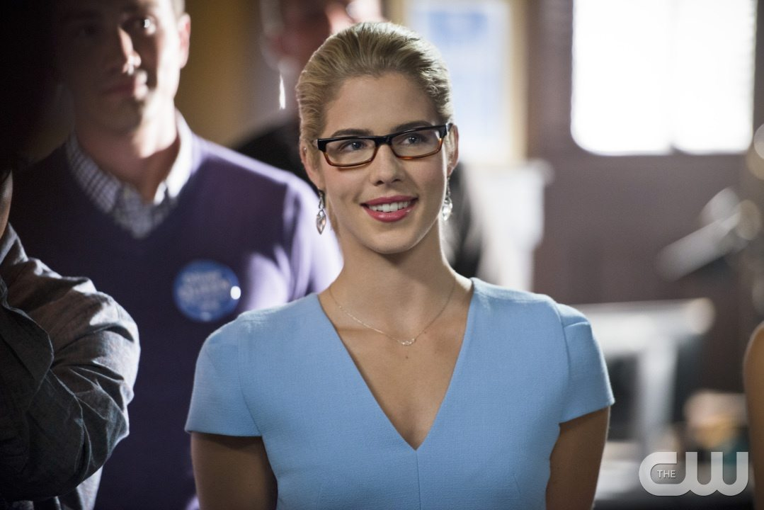 "Arrow -- ""Beyond Redemption"" -- Image AR405A_0241b.jpg -- Pictured: Emily Bett Rickards as Felicity Smoak -- Photo: Diyah Pera/ The CW -- �© 2015 The CW Network, LLC. All Rights Reserved."