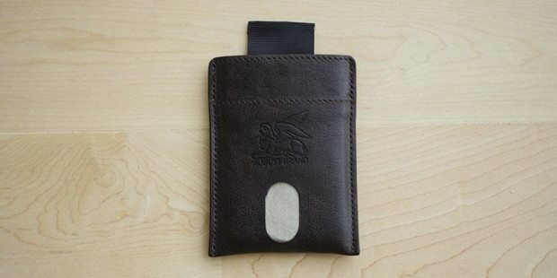 Hover Leather RFID-Protected Wallet