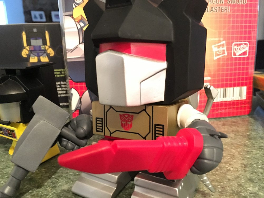 Me, Grimlock, consider running as properly elected official!
