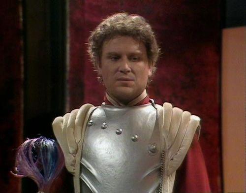 Colin Baker as Commander Maxil