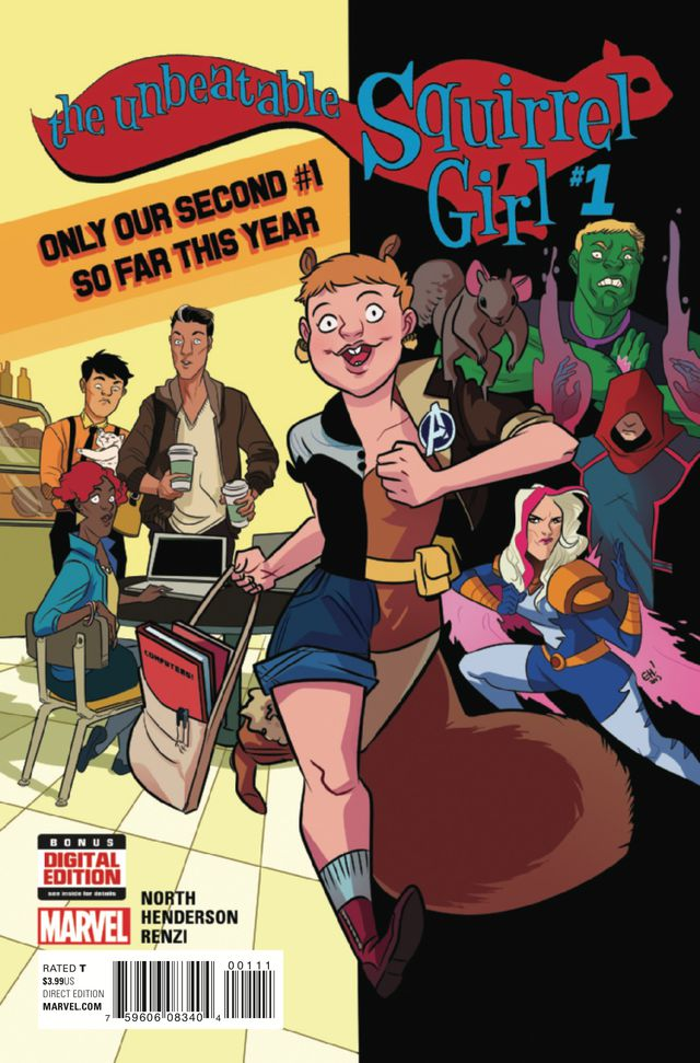 The 2nd Squirrel Girl #1 (2015) cover