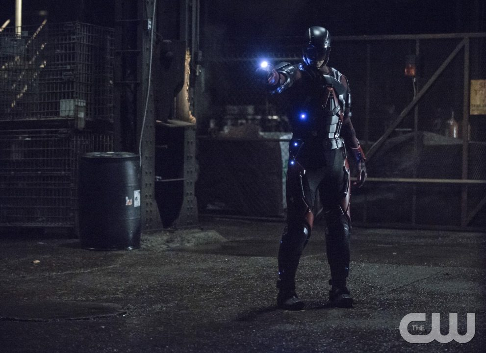 "Arrow -- ""Broken Arrow"" -- Image AR319A_0004b -- Pictured: Brandon Routh as Ray Palmer / The Atom -- Photo: Cate Cameron/The CW -- �© 2015 The CW Network, LLC. All Rights Reserved."