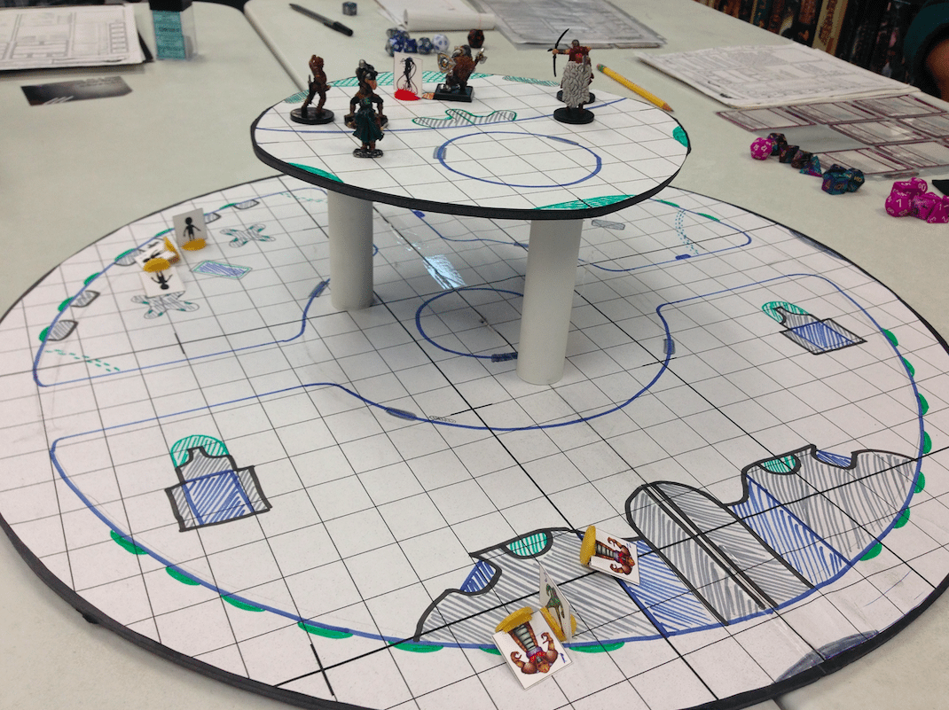 UFO D&D Encounter