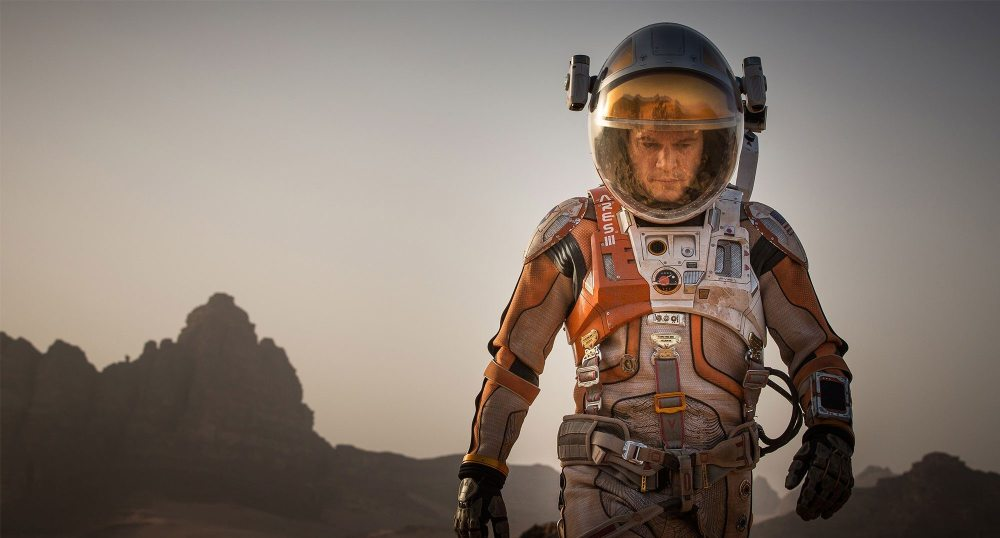 Matt Damon clocks up another movie in a spacesuit
