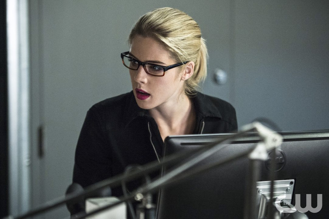 """Arrow -- """"Lost Souls"""" -- Image AR406A_0129b.jpg -- Pictured: Emily Bett Rickards as Felicity Smoak -- Photo: Cate Cameron/ The CW -- �© 2015 The CW Network, LLC. All Rights Reserved."""
