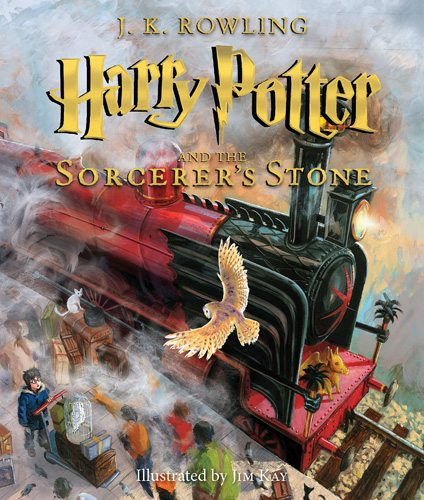 Harry Potter 1 Illustrated
