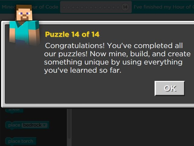 Positive feedback and encouragement are built into all of the puzzles.