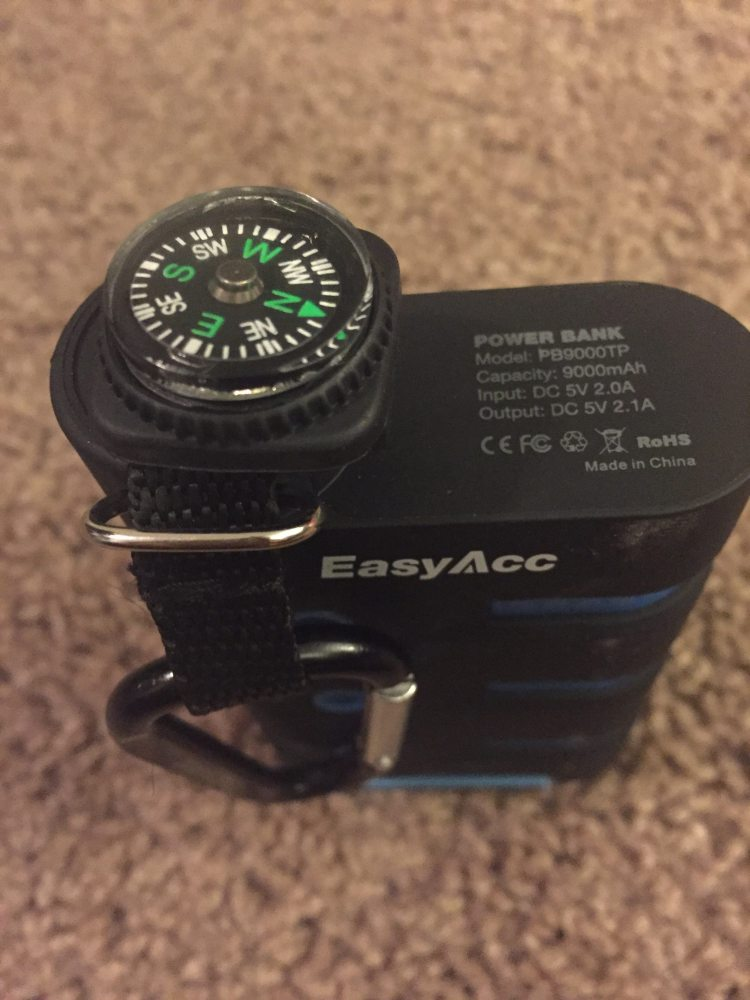 EasyAcc Battery Compass