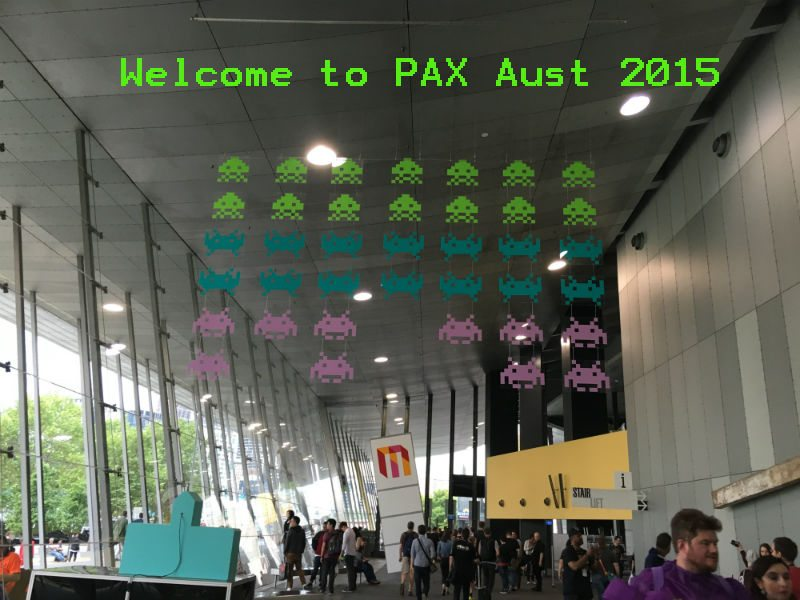 PAX Aus Space Invaders