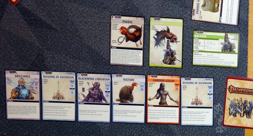 Pathfinder Adventure Card Game Balazar