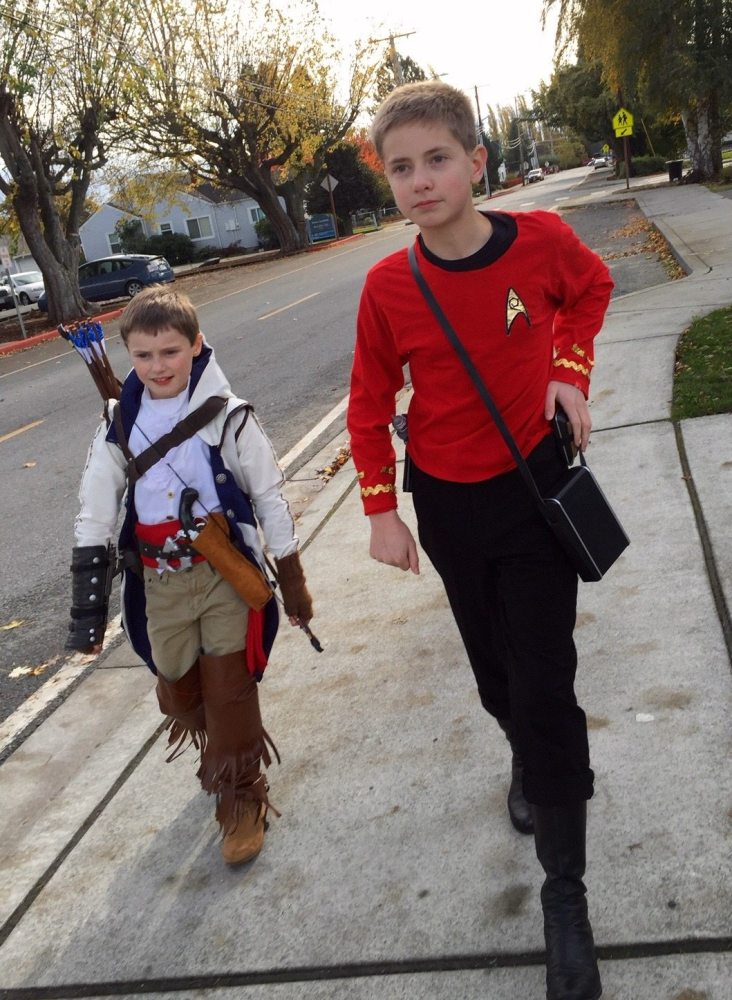 Connor Kenway and Scotty