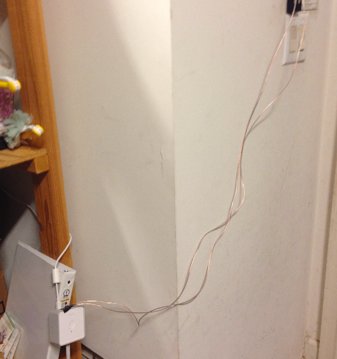 Wiring completed