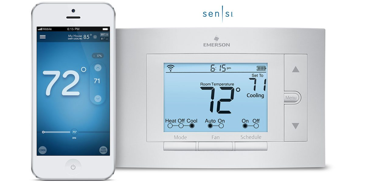 Review  Sensi Wi-fi Programmable Thermostat