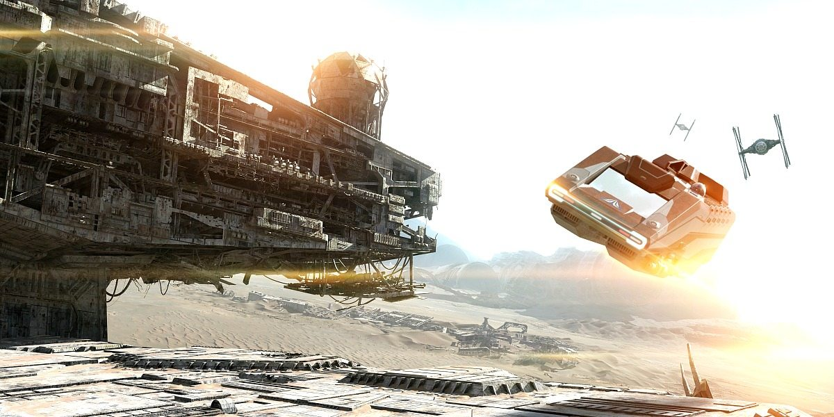 Star Tours the Force Awakens