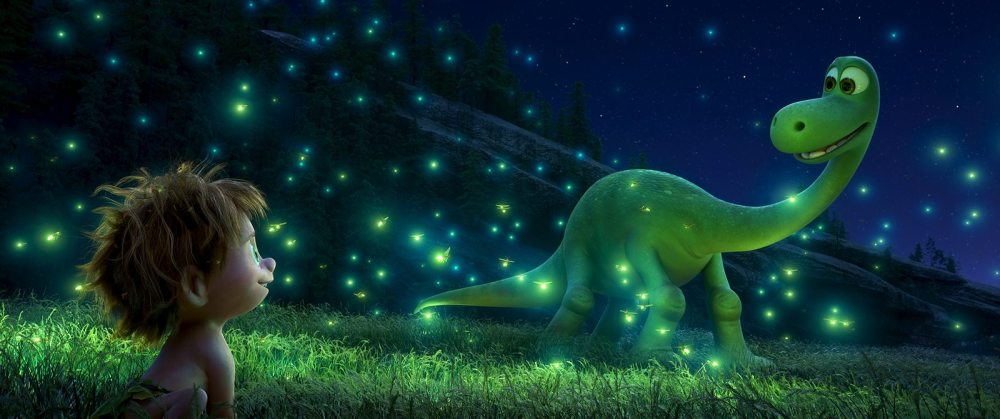 An Apatosaurus named Arlo makes an unlikely human friend in Disney•Pixar's