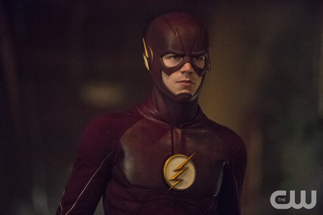"""The Flash -- """"Flash of Two Worlds"""" -- Image FLA202A_0116b -- Pictured: Grant Gustin as the Flash -- Photo: Cate Cameron/The CW -- �© 2015 The CW Network, LLC. All rights reserved."""