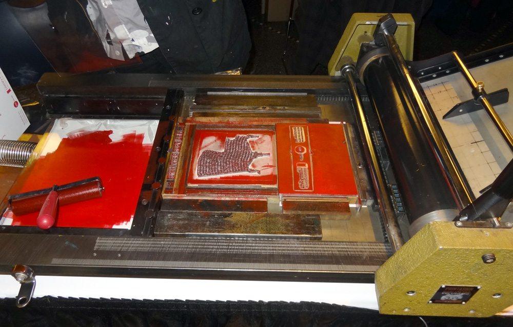 Wordstock letterpress