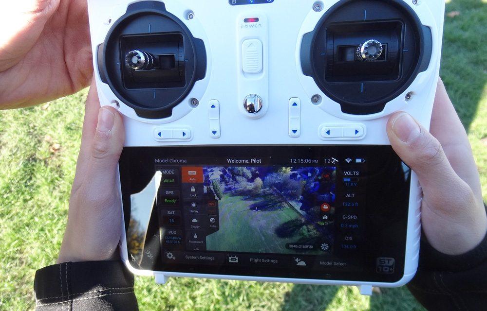 Chroma Camera Drone controller
