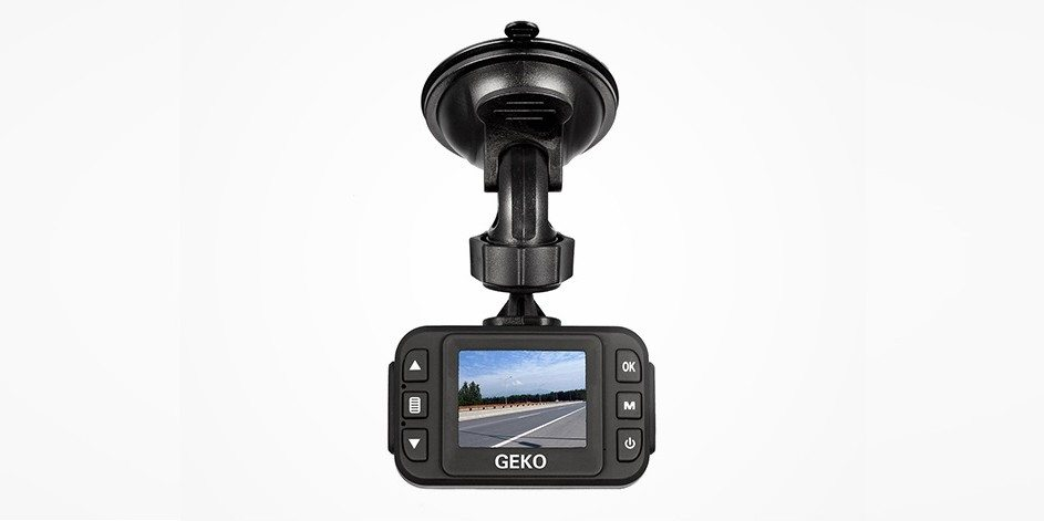 GEKO Full-HD 1080P Dash Cam