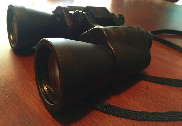 My Trusty Binoculars - Photo by Skip Owens