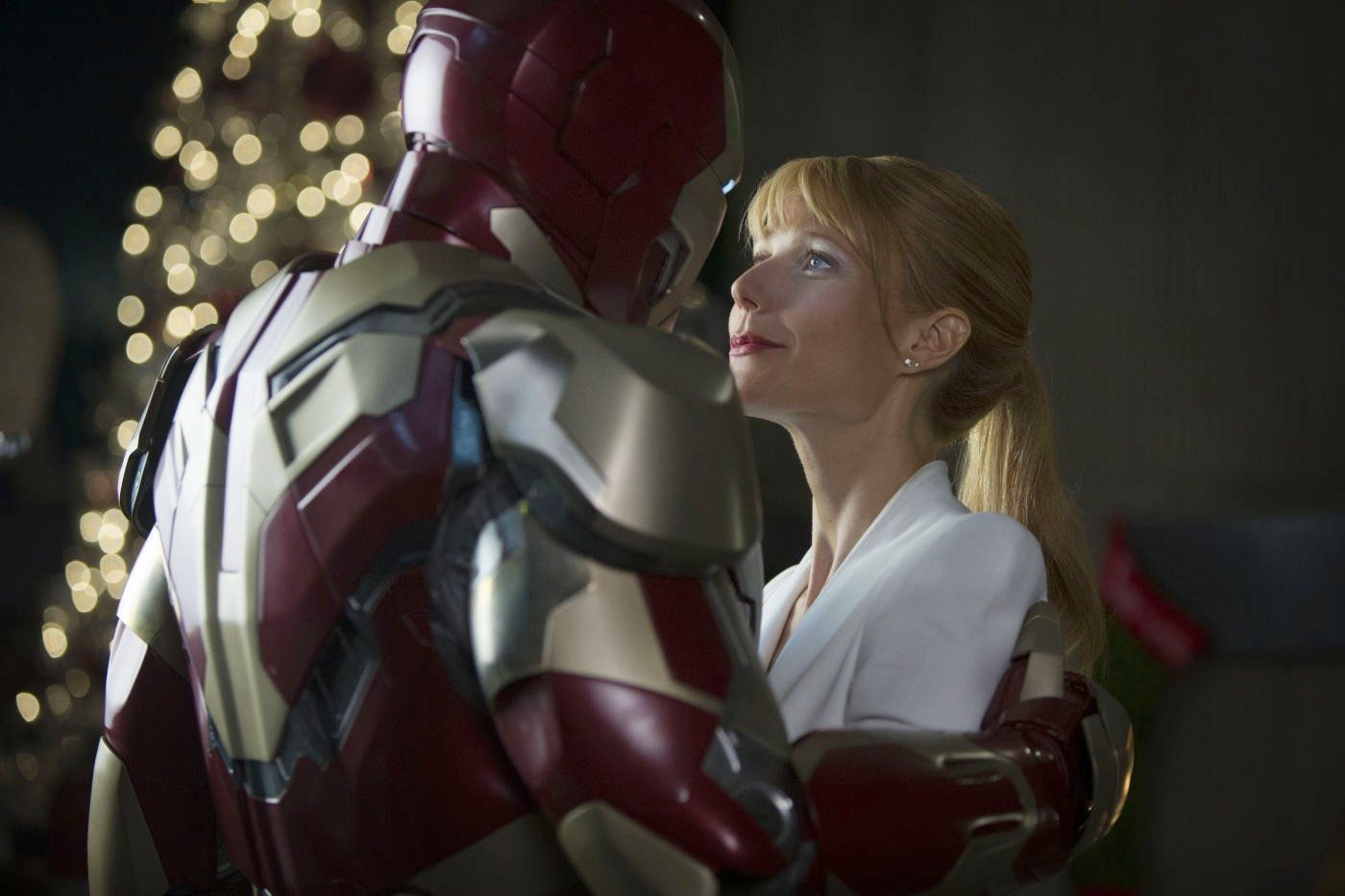 Iron Man 3, Iron Man, Tony Stark, Pepper Potts, Christmas Tree