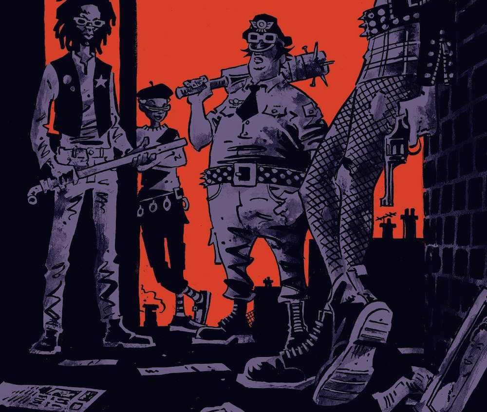 Last Gang in Town #1, image via Vertigo Comics