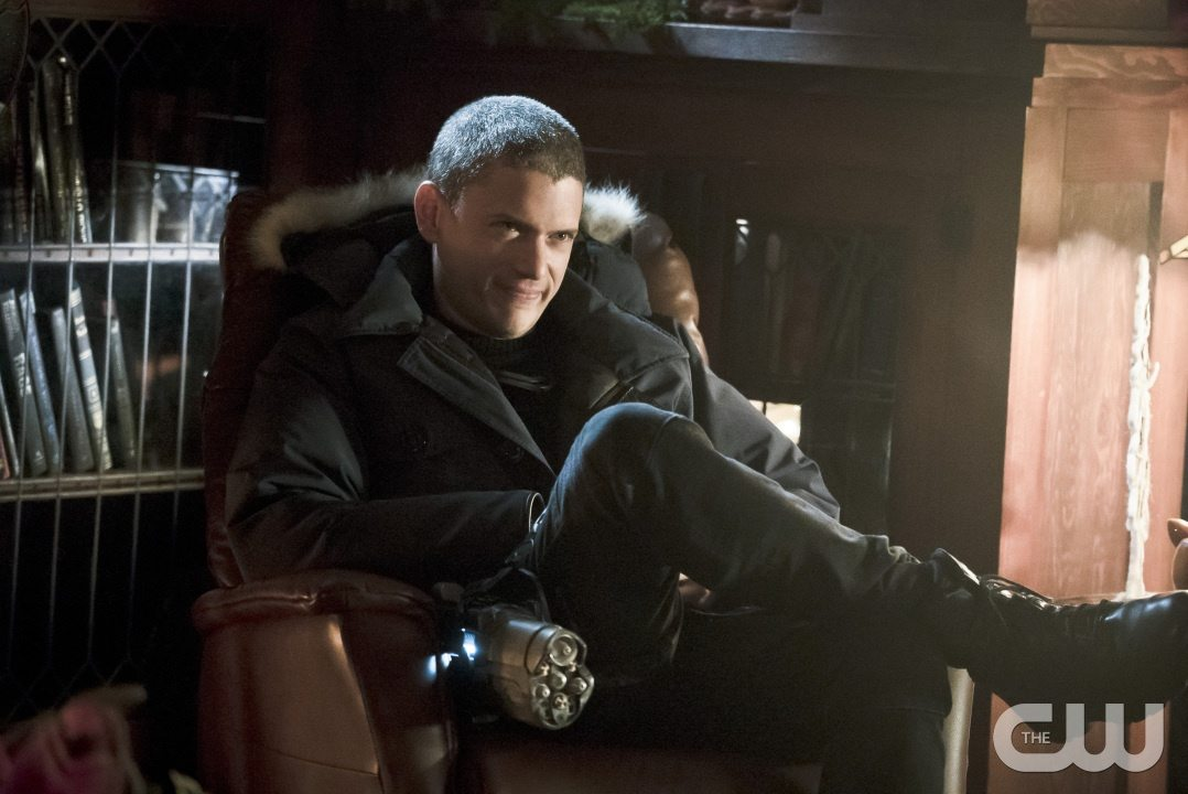 """The Flash -- """"Running to Stand Still"""" -- Image: FLA209b_0021b.jpg -- Pictured: Wentworth Miller as Leonard Snart -- Photo: Katie Yu/The CW -- �© 2015 The CW Network, LLC. All rights reserved."""