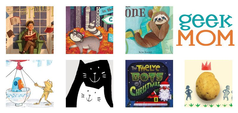 Our favorite read-alouds this month! Image credit: Ariane Coffin.