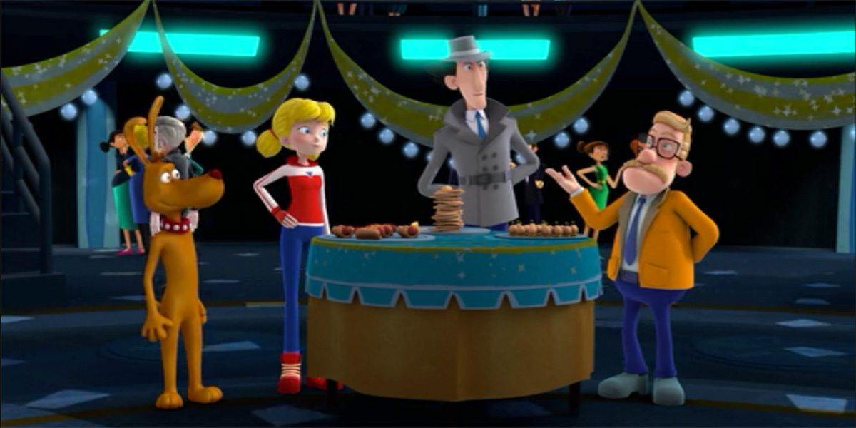 Inspector Gadget New Year's Eve