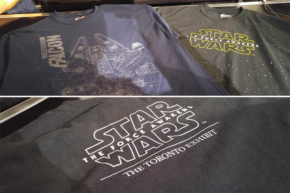Star Wars Toronto Exhibit Official T-Shirts